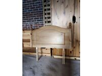 Pine Single Bed Headboard