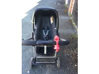 Maxi Cosi pram with car seat attachment