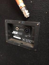 """JBL JRX125 - Speakers - USED Dual 15"""" 2-way, sound reinforcement speaker"""