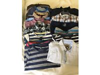 Bundle of boys shirts, tops and fleeces 18-24 months