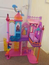 Barbie dreamtopia princess castle nearly new