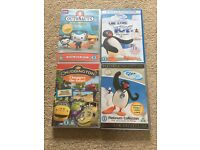 Pre-School DVDs Pingu, Octonaughs & Chuggington
