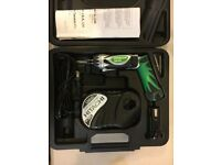Hitachi / Metabo DB3DL1 3.6V Li-Ion Screwdriver Kit 2xBattery/ Bit/ Case/ Charger 110v UK