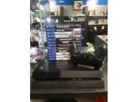 PlayStation 4 console bundle with games