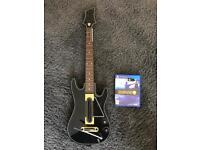 Guitar Hero Live. Guitar game and dongle ps4