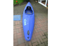 Prijon Tornado Kayak. Big volume whitewater boat. Fast and stable. Suit the larger person.
