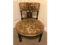 EDWARDIAN (1901~1910) Marquetry Inlaid Mahogany Desk Chair