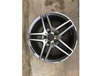 "Genuine Mercedes E Class Coupe A207 18"" Alloy Wheel"