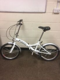 Fold up bike in good condition never had much use six gears