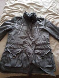 Next jacket size 14 grey immaculate