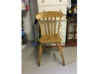 country style chairs light wood