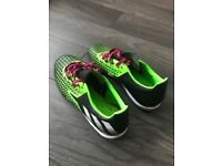 Adidas Ace 16.2 CG Green Black Lace up Mens Football Trainers