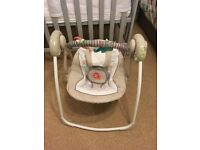 Ingenuity portable swing - cosy kingdom