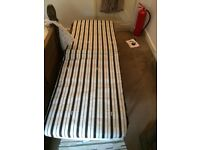 Fold out guest bed