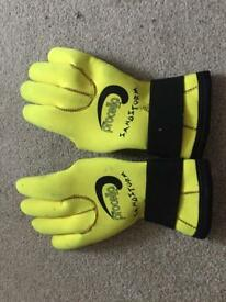 SCUBA Diving Gloves, Hood and Inflator hose