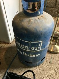 3 gas bottles for sale see pictures