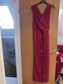 Size 18 Phase Eight Cerise Pink Long Evening Dress