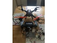 Falcon drone with pvr