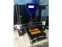 Mini £160 3D printer for home use Precision Reprap Prusa i3 3d Printer with LCD Fully Assembled