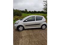 Silver Toyota Aygo, 5 Doors, £20 Road Tax, 2 Previous Owners
