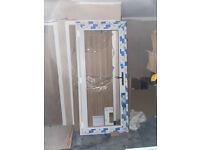 Brand New UPVC Door and Frame