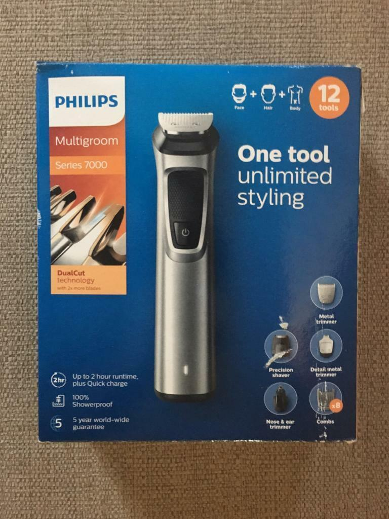 654821759 Philips Series 7000 12-in-1 Grooming Kit MG7710 | in Bicester ...
