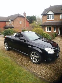 2008 Vauxhall Tigra 1.4l Exclusiv Black 70k Miles Manual Petrol