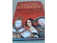 Monarchy: From the Middle Ages to Modernity Hardcover by David Starkey (Author)