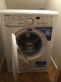 Indesit washing machine A ++ only used 5 times good as new, collection only.