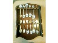 Collection set Silver tea spoons