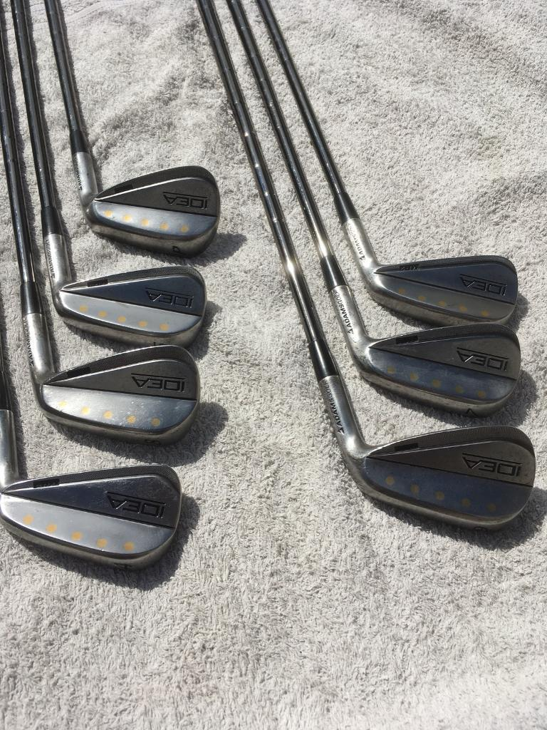 Adams Idea MB2 raw forged irons rare | in Dunfermline, Fife | Gumtree