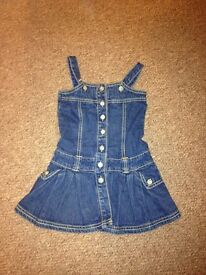 PUMPKIN PATCH denim dress age 3