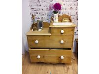 VICTORIAN CHEST OF DRAWERS - UNIQUE! Available now from Room Tonic.