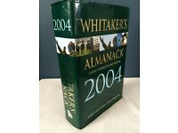 Whitaker's Almanack 2004 - 136th Annual Edition