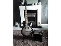 Rockburn guitar and amp