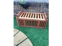 Bespoke garden bench