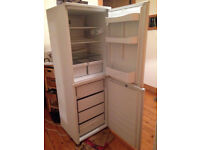 Free- standing fridge (with attached non-working freezer)