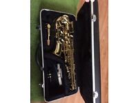 Saxophone by unknown maker