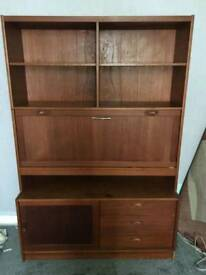 Shelving Unit cupboard dresser brown