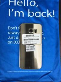 Samsung s6edge 128 Gb unlocked in gold colour