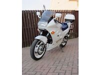Honda VFR750 1989 in Pearl White, Immaculate Condition, 18600 from New