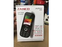 Zanco amo mobile phone unlocked brand new