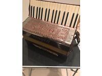 Vintage accordion rauner ariola fisarmonica