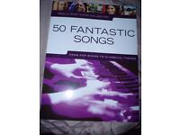 really easy piano collection, 50 fantastic songs to learn on the piano