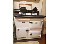 Rayburn Royal gas range cooker