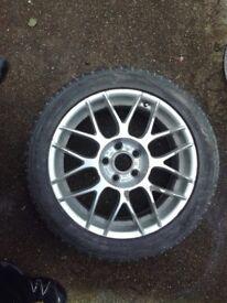 Audi A4,A6,Vw genuine bbs spare wheel X1