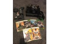 Xbox 360 with games etc