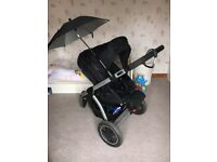 Maxi Cosi Mura Plus 3in1 cabriofix travel system (buggy, pram, car seat)