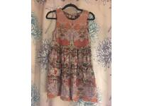 Topshop Dress Size 8 Floral