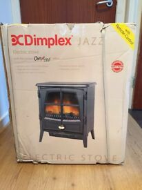 DIMPLEX JAZZ NOIR ELECTRIC STOVE-FREE STANDING-BRAND NEW